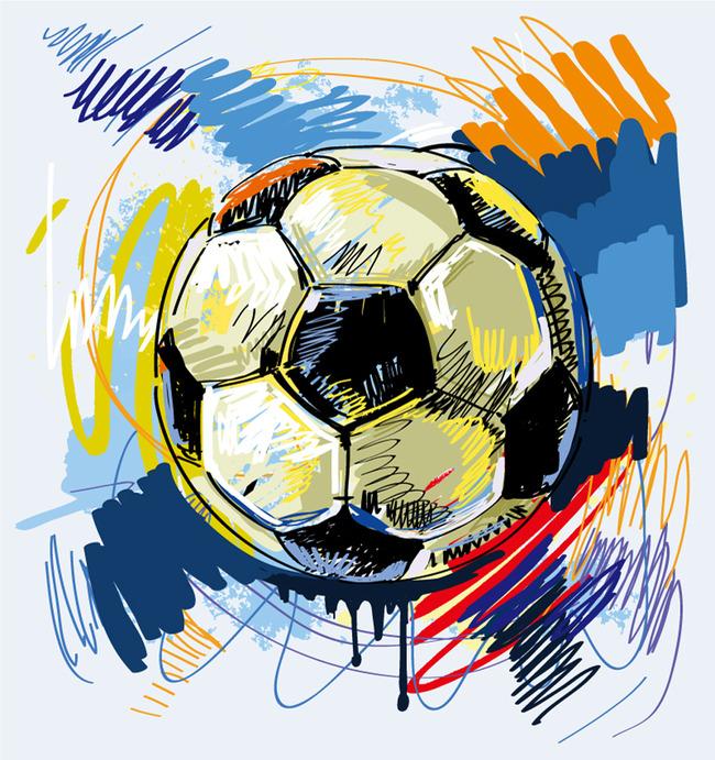 足球海报 足球展板