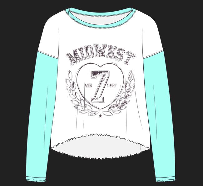 服装设计稿图案款式效果图素材数字卫衣7