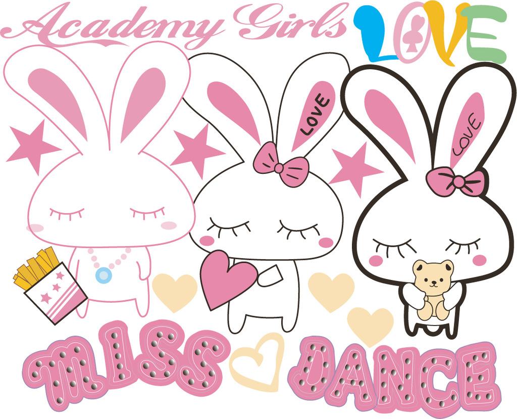 qq分组图案兔子_qq分组可爱兔子图案-给一个好看的QQ分组兔子图案。 _感人网