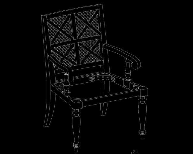 欧式餐椅cad设计模板下载(图片编号:12777355)