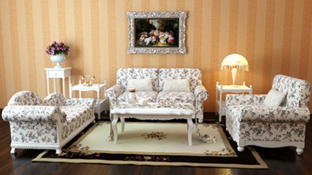 欧式风格家具单体手绘