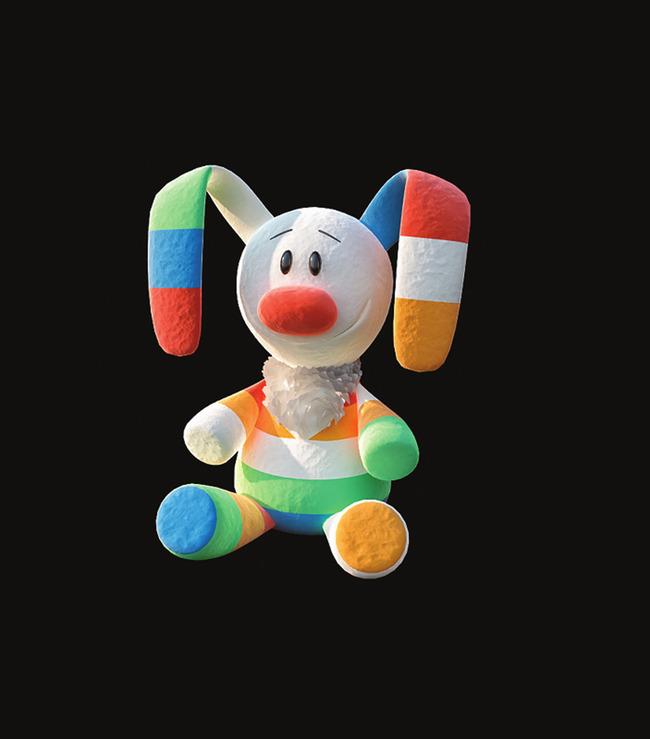 卡通动物儿童玩具3d模型