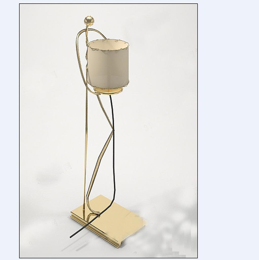 3d模型 室内设计3d模型 单体模型 > 落地台灯造型  下一张&gt