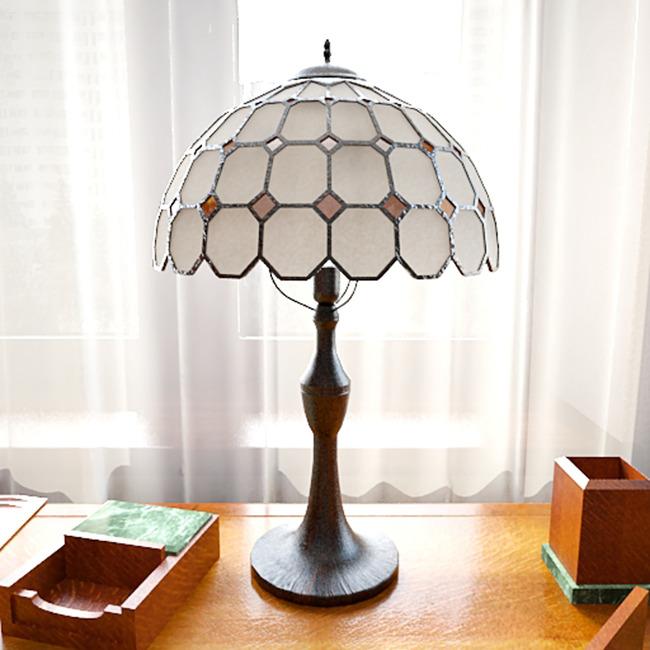 家庭灯具台灯模型模板