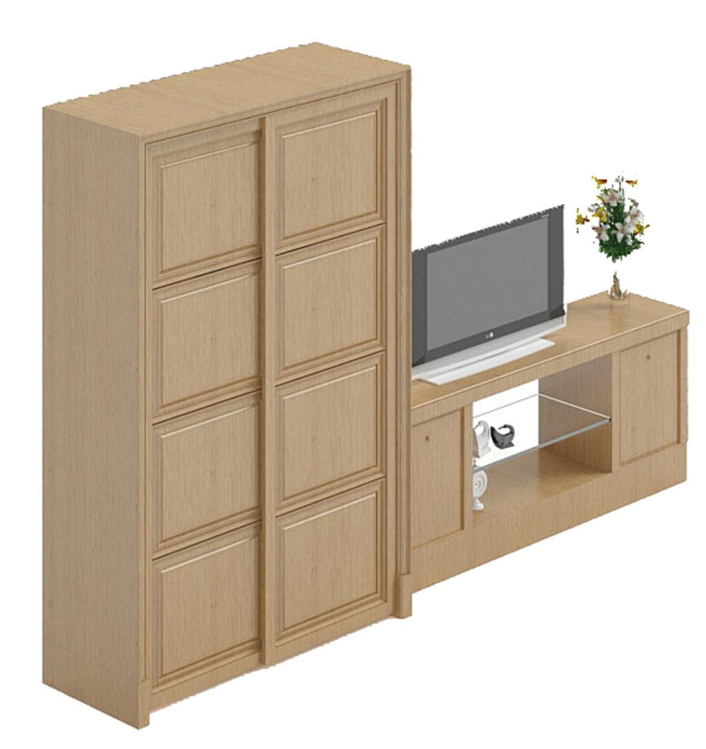 手绘室内单体家具柜子