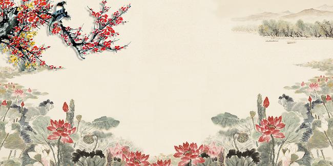 沙发背景墙 电视墙 形象墙 古典风格 中式 中国风 图库 墙纸 壁纸图片