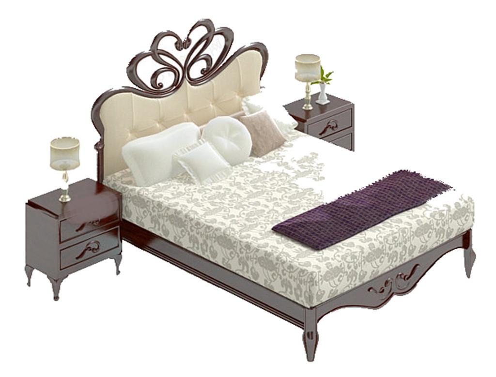 单体家具手绘 床