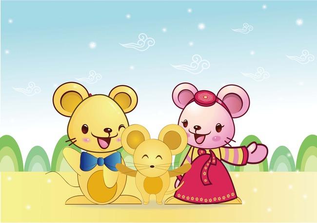 卡通小动物模板下载 卡通小动物图片下载