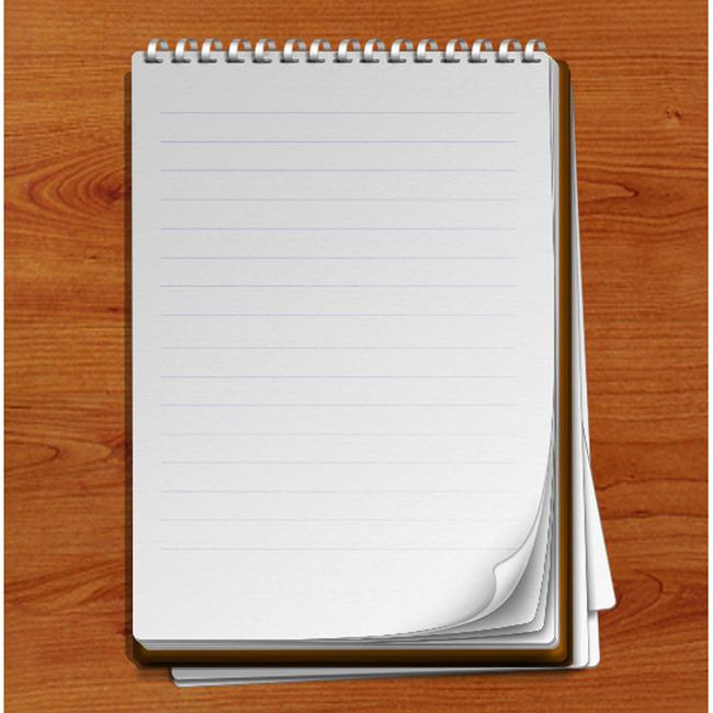 笔记本记事本本子展示册