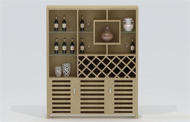 精品酒柜3d模型模板下载(图片编号:12829340)