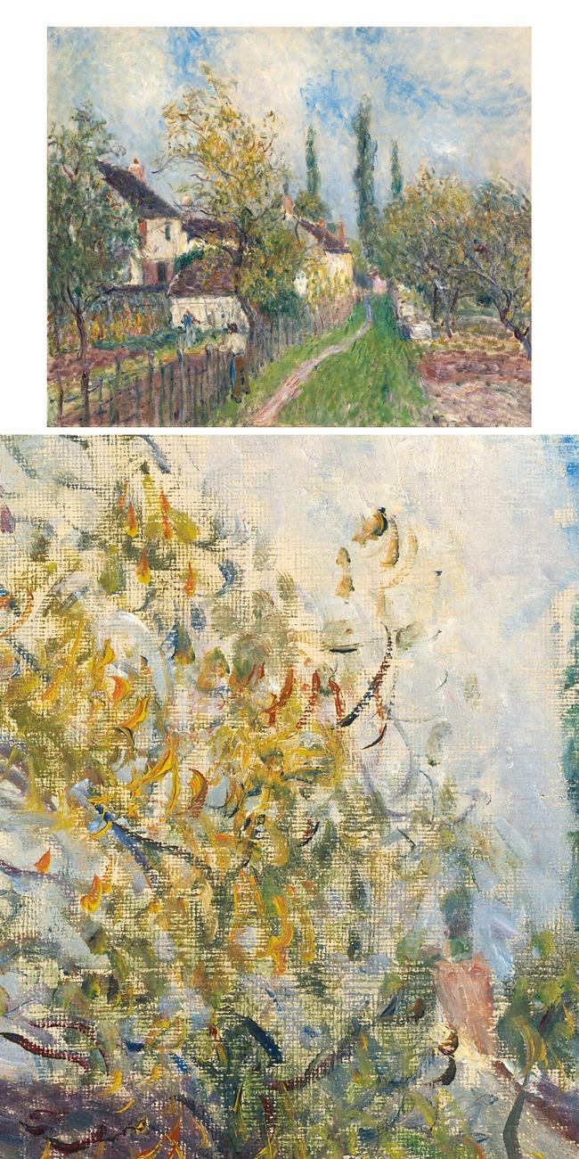 印象派乡村风景画系列