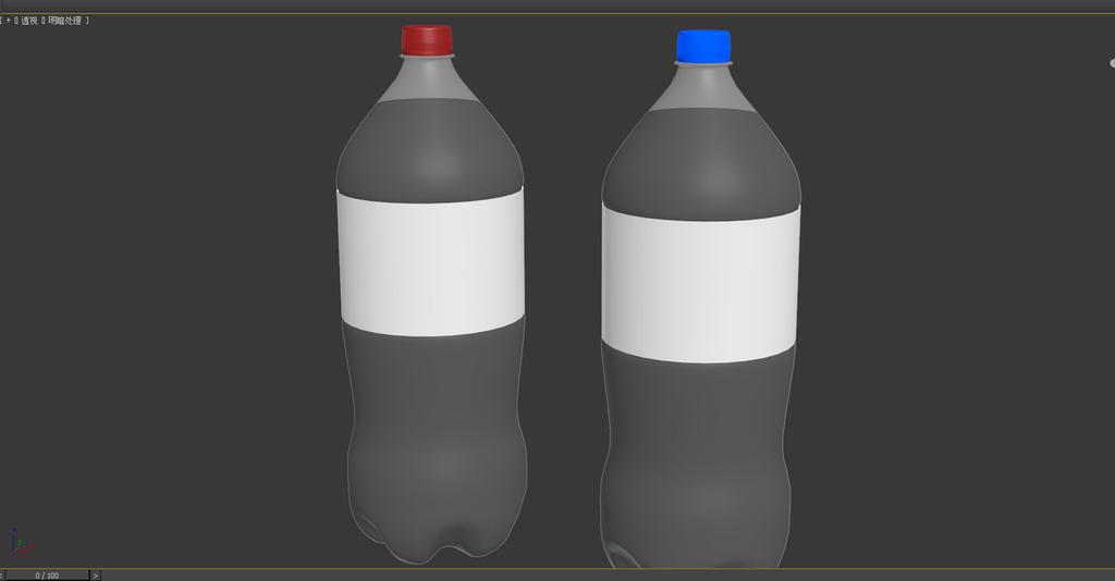 可乐水瓶拉罐模型