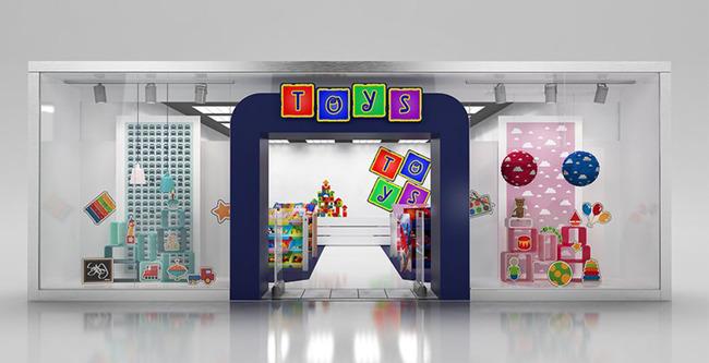 可爱儿童玩具专卖店3d模型+贴图
