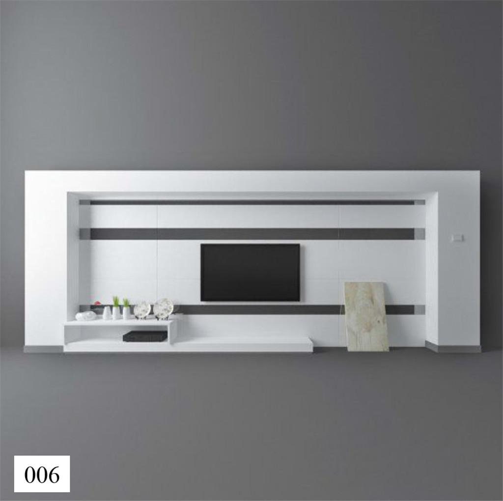 电视柜手绘单体