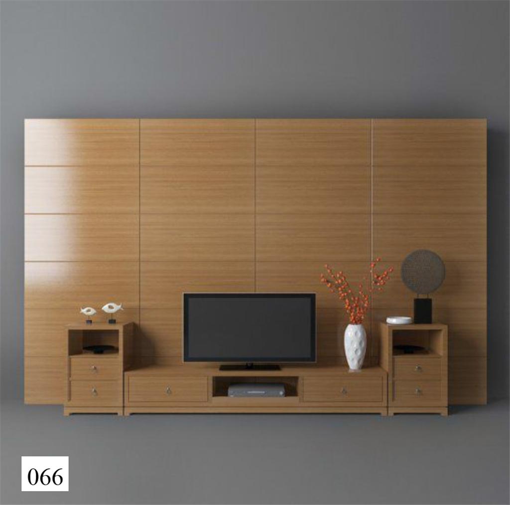 3d模型 室内设计3d模型 单体模型 > 电视柜背景墙现代组合东南亚电视