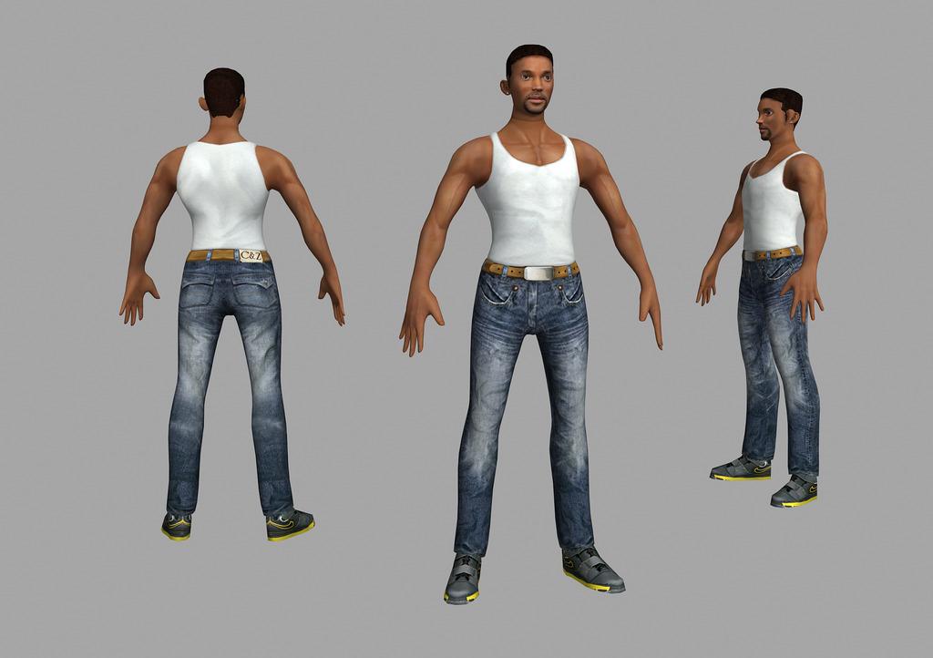 服装设计人体模型_