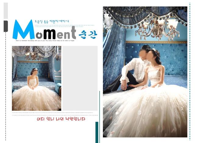 欧式宫殿婚纱照相册模板图片