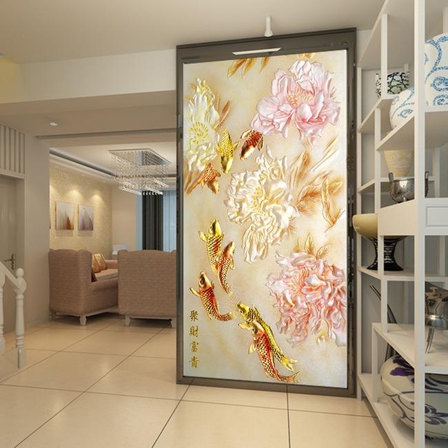 门厅壁画装修效果图