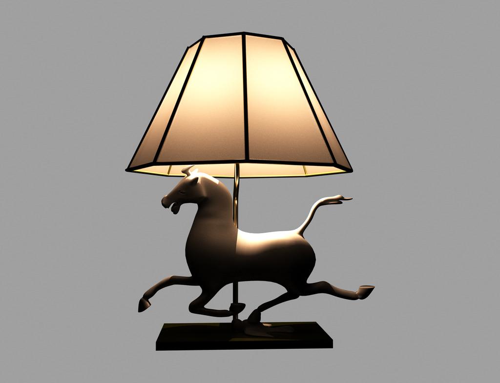 室内手绘单体灯具