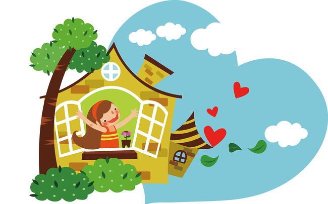 幼儿园小学学校展板模板图片下载 卡通校园设计素材下载图片
