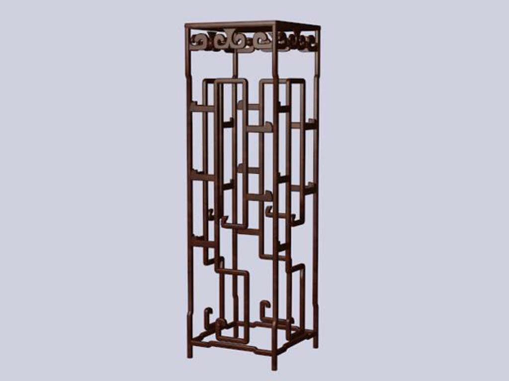 3d中式家具模型博古架明清3d