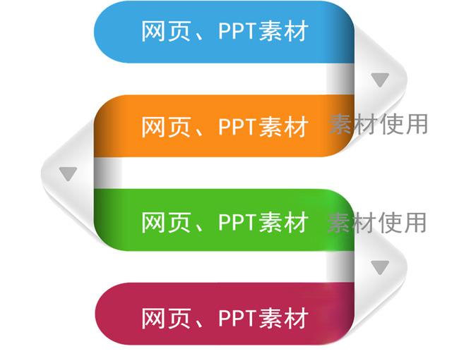 网页ppt插图素材