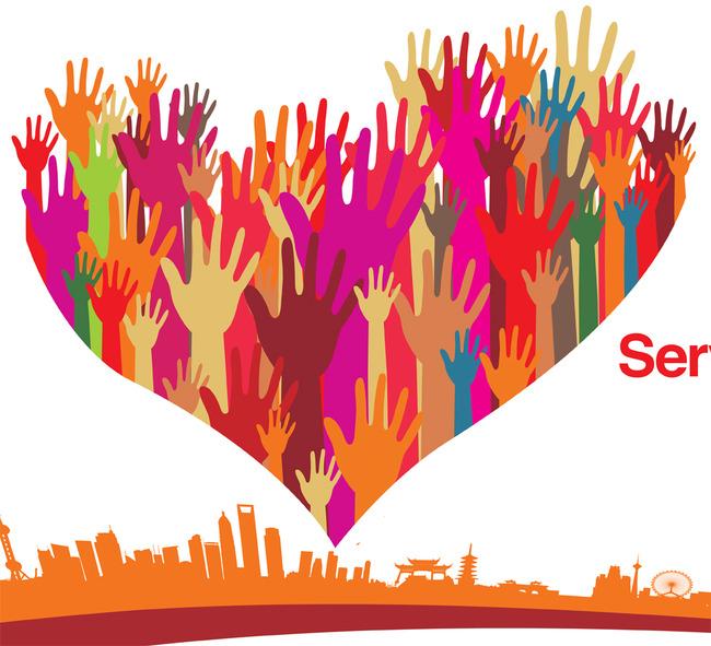 国际志愿者日宣传展板