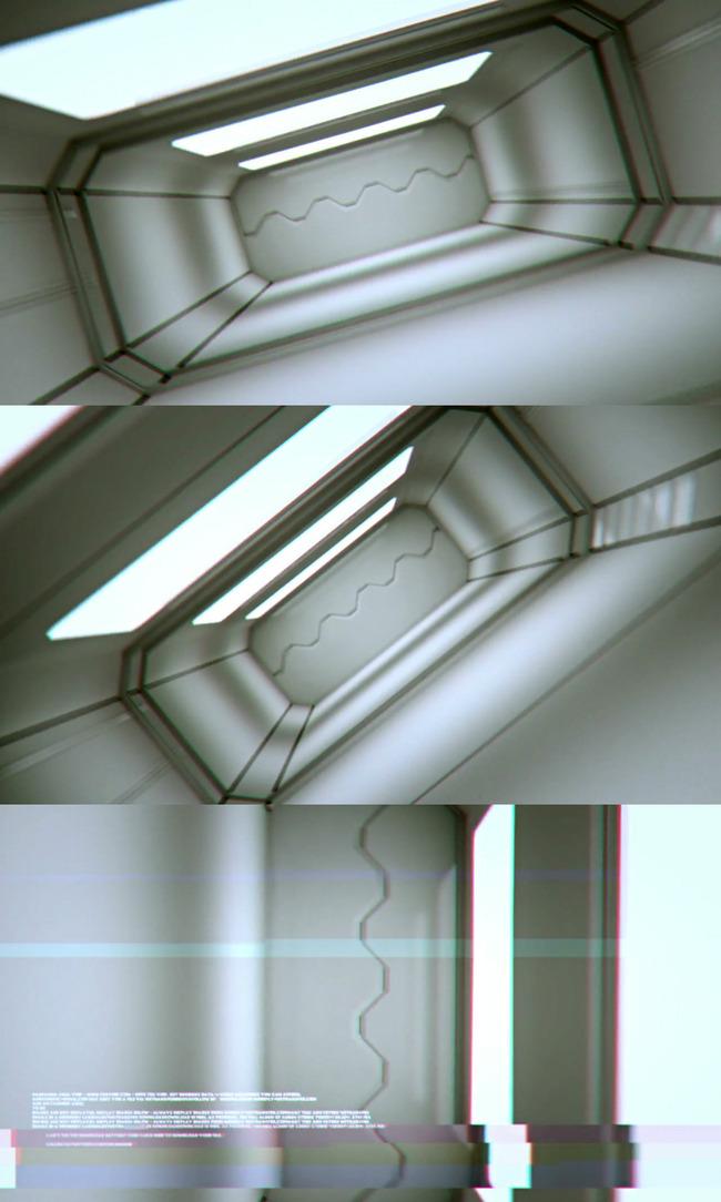高清宇宙空间站太空舱视频