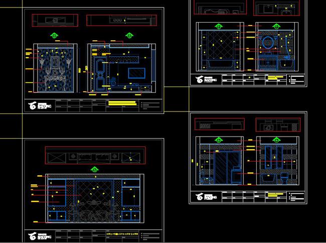 3层别墅平面图施工图整套案例图片下载