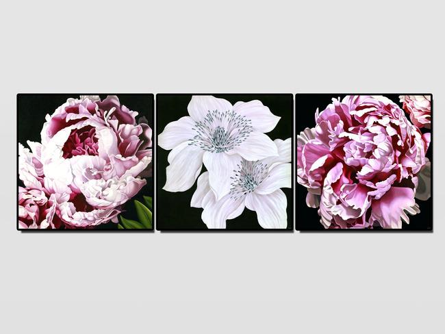 欧美复古花卉油画