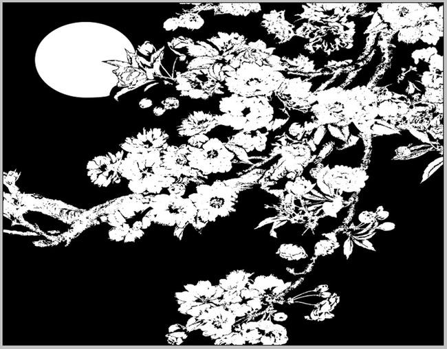 电视背景墙定制瓷砖彩雕手绘树路径图高清图片下载().