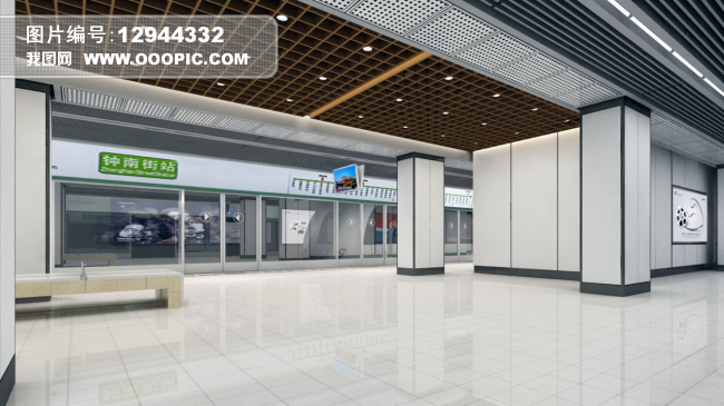 3d苏州地铁站设计工程文件