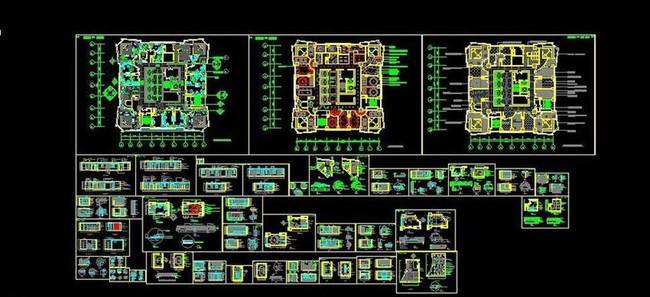 ktv包房平面图