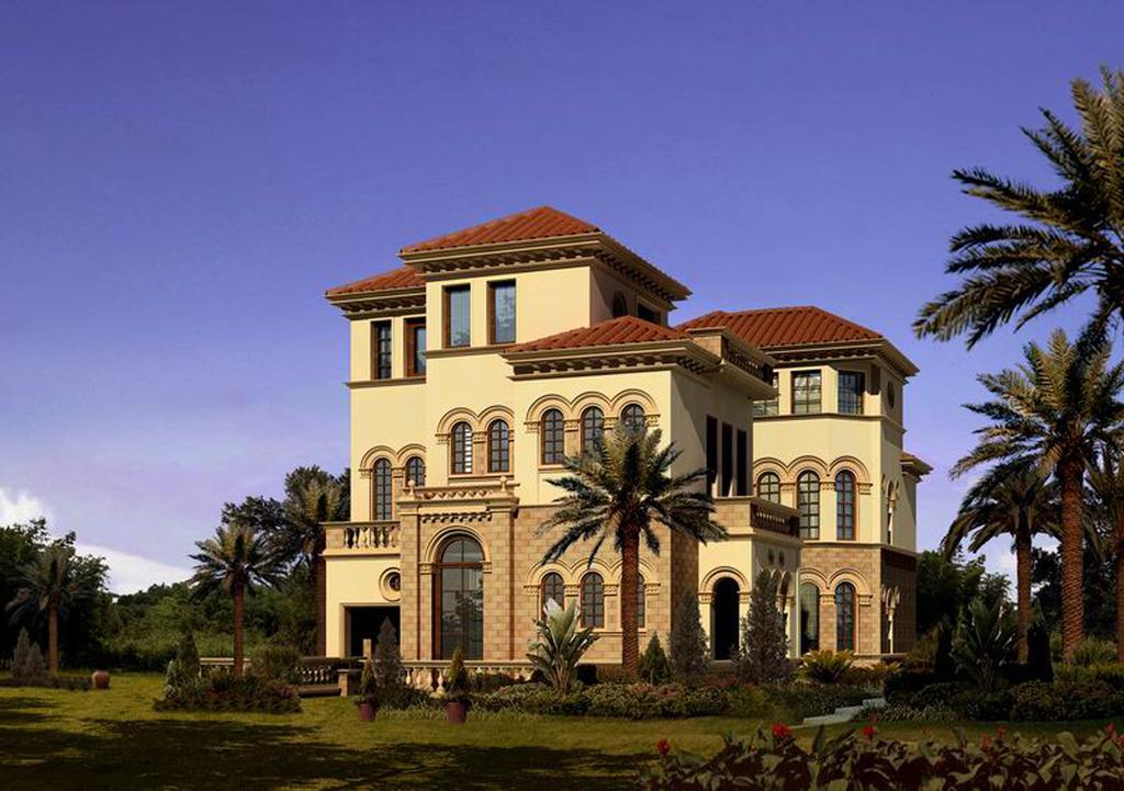 室外建筑模型商业住宅别墅公建模型