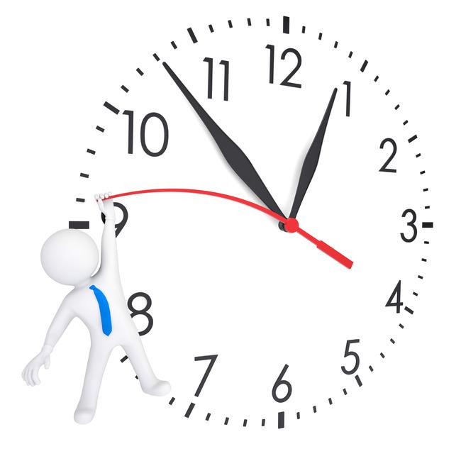 3d人物时间和时间赛跑