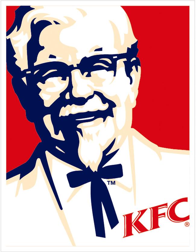 关键词: 肯德基 肯德基爷爷 kfc头像 矢量素材 logo 肯德基标志