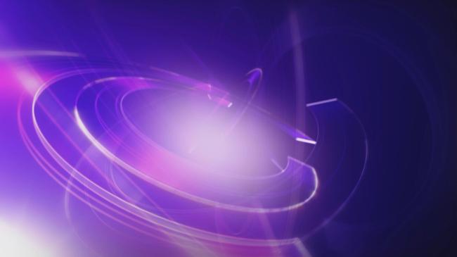 led科技商务类商业背景紫色虚