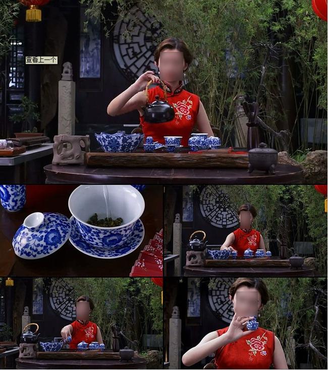实拍美女沏茶高清视频素材模板下载图片编号: