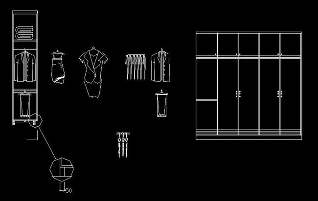 欧式图库立面图图库门 灯具 植物 人 沙发家具 办公用品 桌椅 衣柜 家