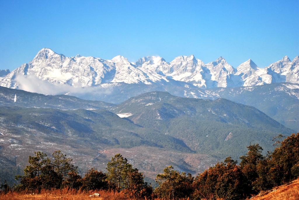 云南大雪山