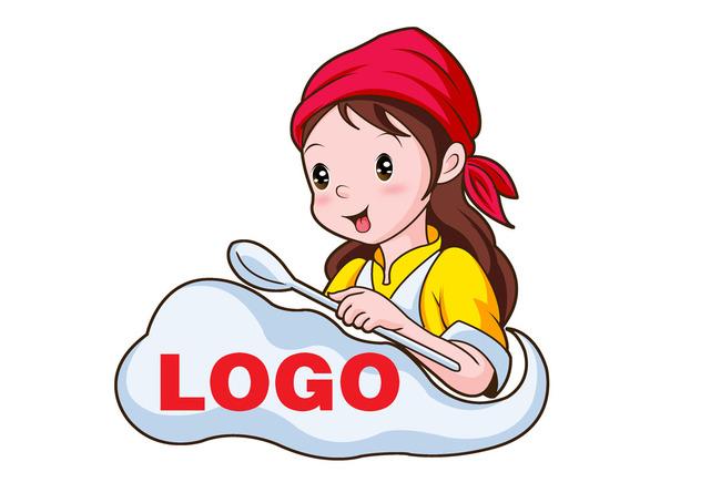 餐饮业卡通形象设计psd分层源文件下载