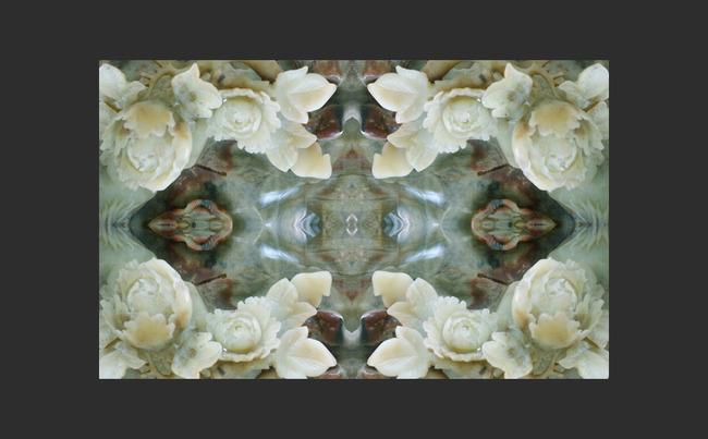 3d立体古典欧式抽象玉雕浮雕电视背景墙