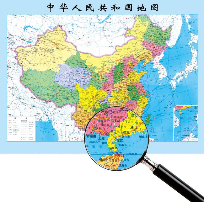 中国地图模板下载 中国地图图片下载