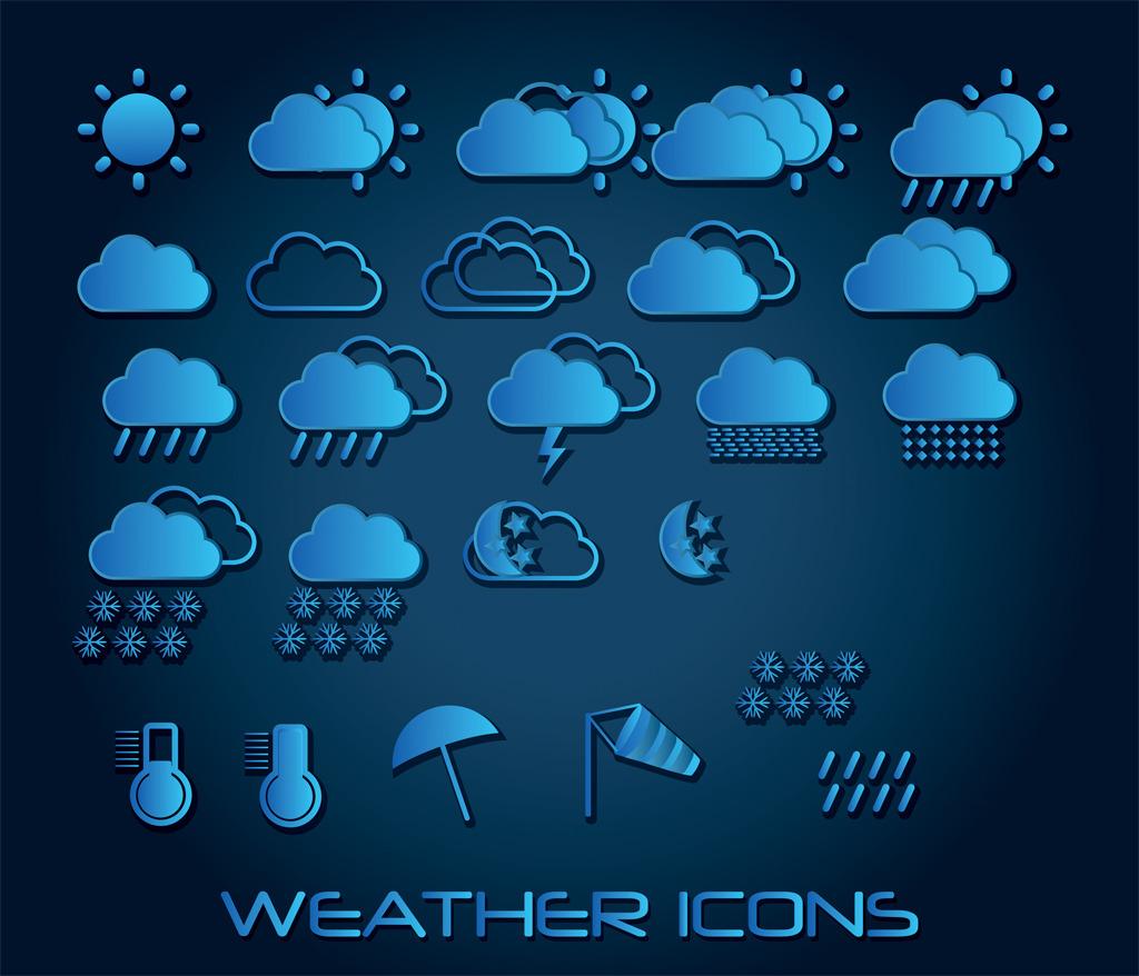 天气创意图标模板下载 天气创意图标图片下载天气图标图标手机图标图片