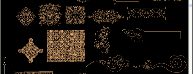 欧式花纹cad图片下载 欧式花纹cad 欧式角花欧式花纹cad模板下载 欧式