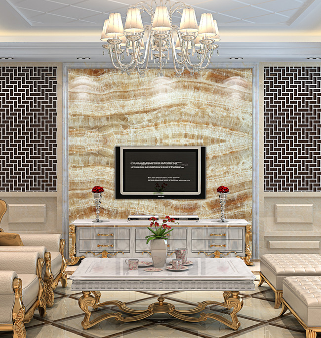 大理石背景墙玉石瓷砖壁画石纹图片