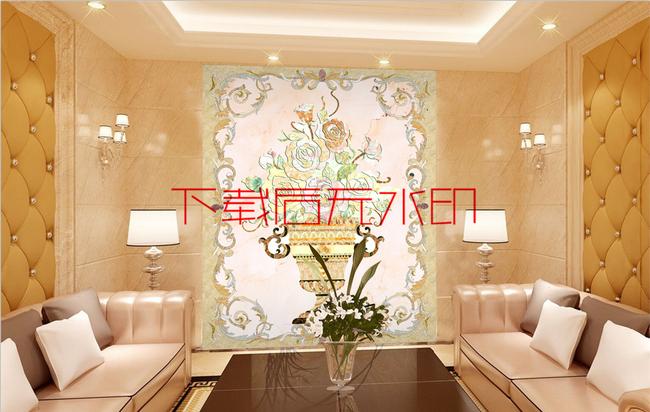 新品b96客厅书房走廊茶室玄关端景墙画