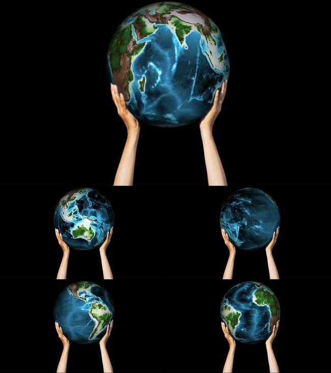 双手托起地球_托起地球_双手托起地球的简笔画_托起