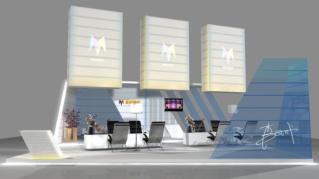 展览展示展位设计效果图图片