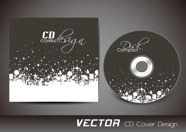 简洁黑白cd封面设计模板下载(图片编号:13147698)